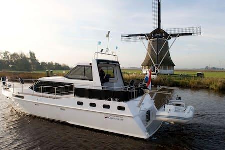 Luxe motorboot te huur per week - Hajó