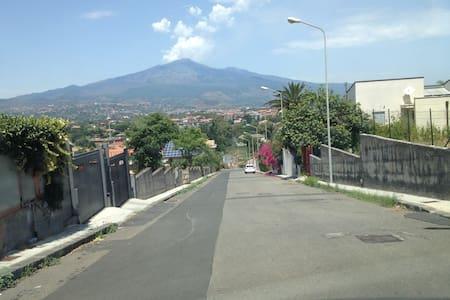 Appartamento in villa fronte Etna
