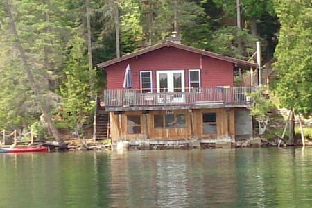 Unique Cottage on Water's Edge
