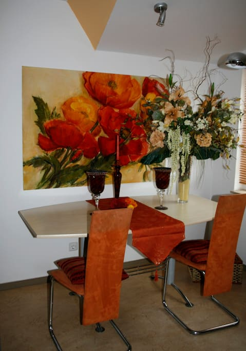 Dining Room with big table
