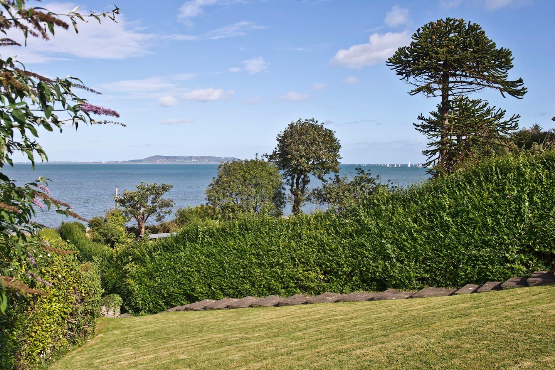 Fabulous view over Dublin Bay