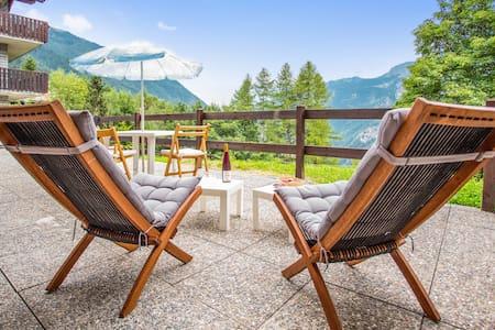 Flat with stunning mountain views - Valtournenche - Wohnung