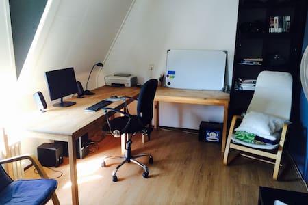 Spacious attic-room in Oosterpoort - Groningen