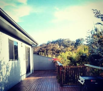 Spacious home with deck and view. - Dom