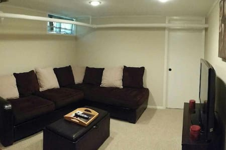 Cozy private apt. 1hr from NYC! - Huntington Station - Appartement