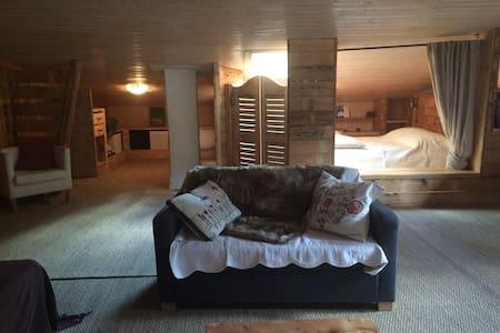 Chambre spacieuse et agréable - Aime - Huis