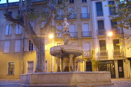 Old town house in heart of Ceret