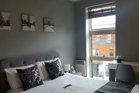 Modern Room in City Centre with Private Bathroom - Manchester - Lejlighed