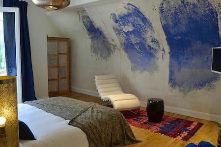 Villa Louise - Chambre topaze - Bobital