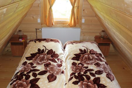 Rooftop apartment in a chalet - Brzegi