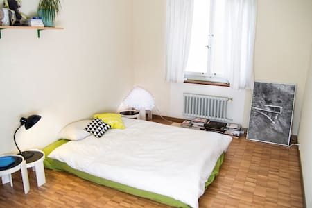 Friendly room, 2 min from train