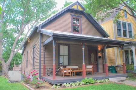 Cozy Queen, Historic District, Easy walk DWTN! - Casa