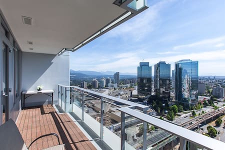 Vancouver Metrotown Great View APT - Burnaby - Lejlighed
