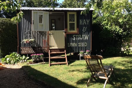 Shepherds hut in South Downs - Upper Beeding - Hut