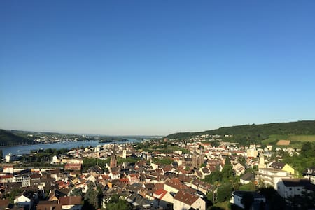 Apartment with fantastic view &pool - Bingen am Rhein