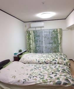 春意盎然的公寓、距离博多站步行5分钟。干净,舒适,家电一应俱全。 - Fukuoka-shi - Lejlighed