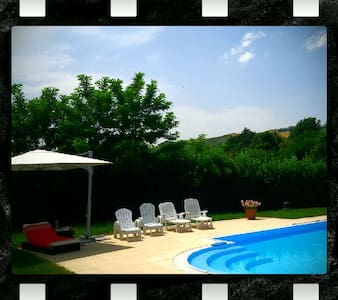 Private room in a Villa with swimming pool - Casalfiumanese