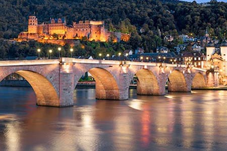 Beautiful apartment center - Heidelberg - Appartement