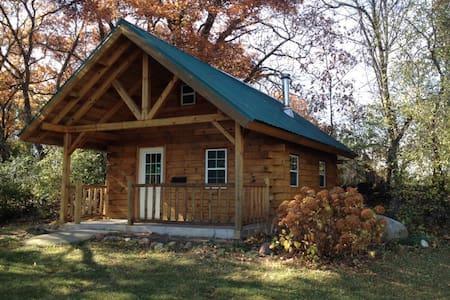 Amish Cabin close to Cambria/Dalton - Cambria - Zomerhuis/Cottage