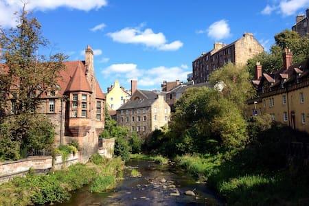 Charming  Apartment in Edinburgh's Dean Village - Apartemen