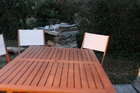 tente dans le jardin - Teltta