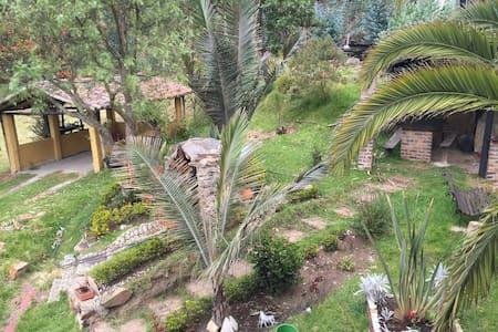 Cabaña campestre en Paipa. Descanso - Cabaña
