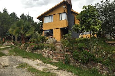 Cabaña campestre en Paipa. Descanso - Paipa
