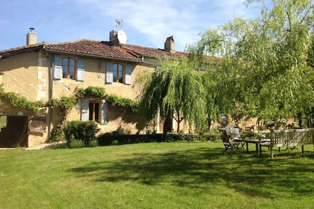 Total peace in Gascony 17 mins Auch - Jegun - Haus
