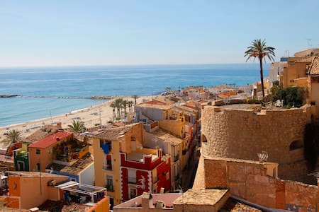 Spacious apartment with incredible view - La Vila Joiosa - Wohnung