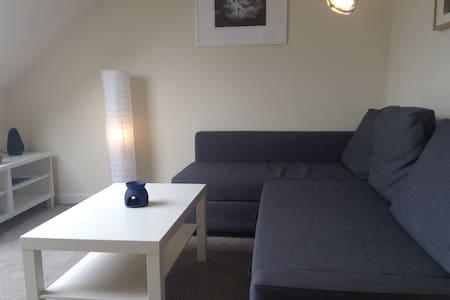 Bright top floor flat in Leith - Apartment