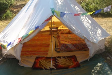 Eco glamping in Kurkum Farm - Tiipii