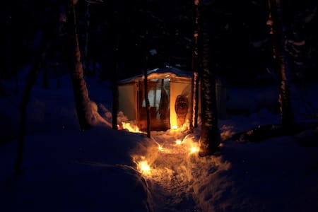 Charming Yurts in the forest. - Yurt