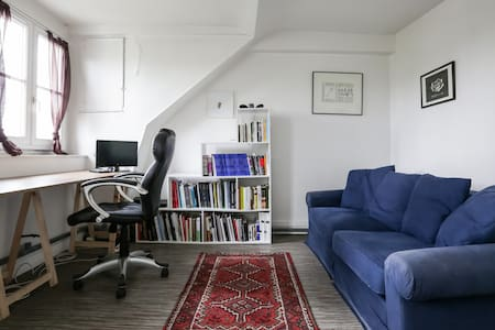 Lovely under roof flat in Paris