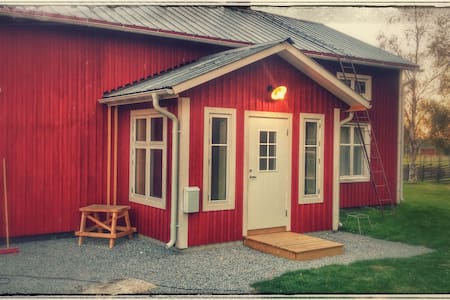 Fully equiped Tiimber house for four with Wi-Fi - Luleå - Huis