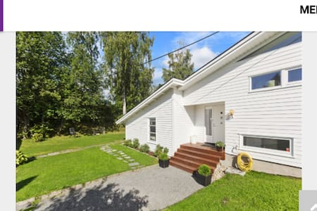 Spacious and modern villa - Bærum - Hus