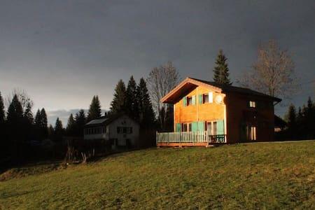 Grand chalet 8 places - Alpehytte