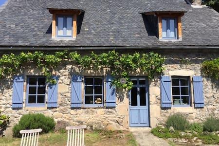 """""""C'est une maison bleue"""" - Champs-sur-Tarentaine-Marchal - House"""