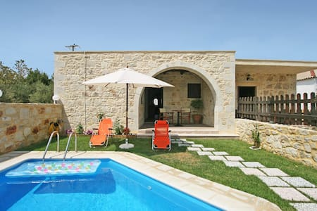 Two brand new 2-bedroom traditional villas are offered in the hamlet of Lardas, only 5 km away from the unique sandy beach of Falassarna. The villas are located 40 km west of Chania in a tranquil place ideal for relaxing holidays.