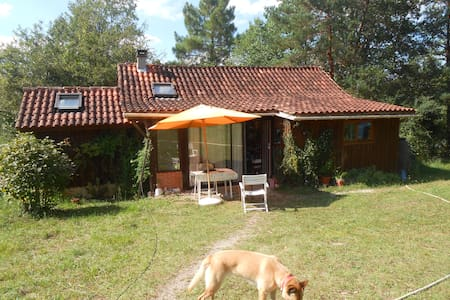 Maison en bois en pleine nature - Belaye - Huis