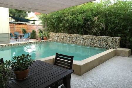 Newly listed: Downtown Pool House