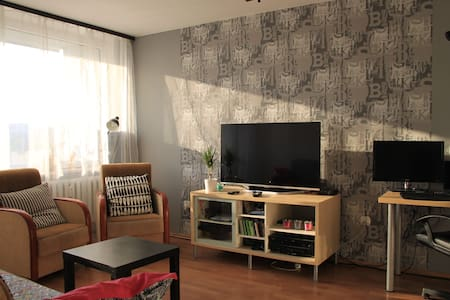 Nice room for 2, near metro, Modlin - Appartement