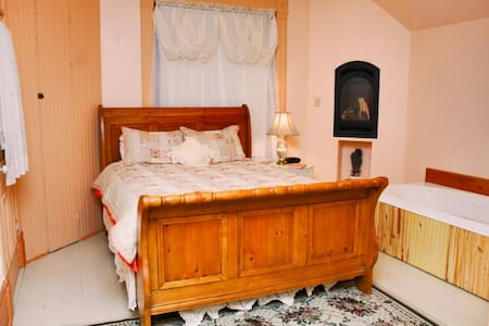 Historic B&B in Spring City, Utah - Szoba reggelivel