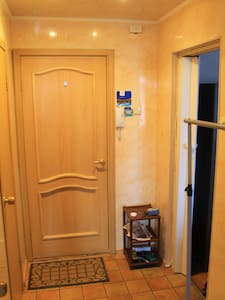 Located within a few minutes walk from main FiveCorners square this small but cosy apartment is perfectly set up for a few days stay while visiting Murmansk. The apartment consists of a single room, kitchen, bathroom and balcony with an amazing view.