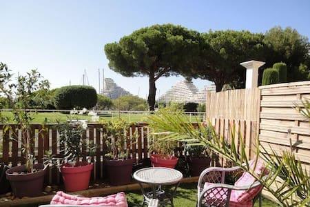 Studio jardin entre Nice et Cannes - Villeneuve-Loubet - Leilighet