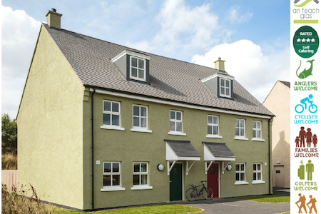 An Teach Glas - Self Catering - Maghera - Hus