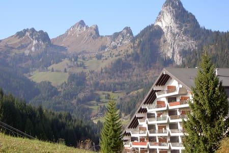 Swiss chalet-style flat w/ balcony - Apartament