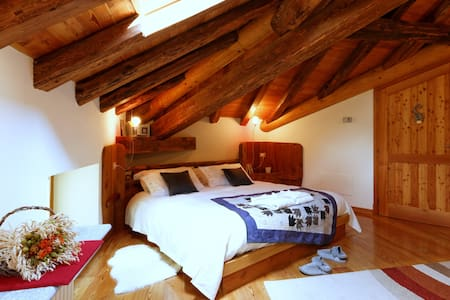 charming B&B with  Monte Rosa view - Bed & Breakfast