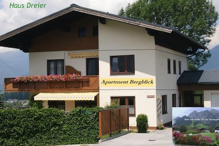 "Apartment ""Bergblick"" Haus Dreier - Daire"