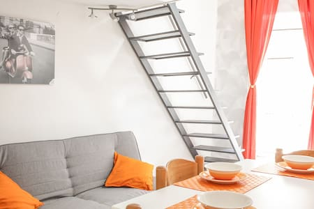Charming independent apartment - Maison