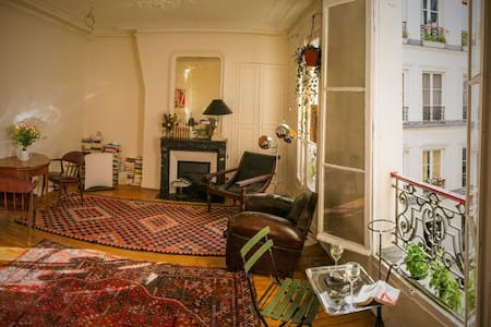 Ancient, quiet and sunny 58m2 flat